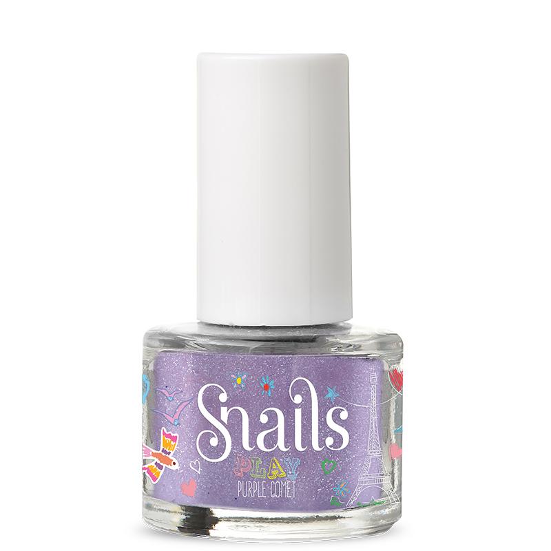 Snails Play - Purple Comet